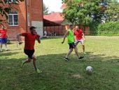 Футбол в реабилитационном центре